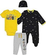 STAR WARS Layette Set: Sleep N' Play, Pants, Bodysuit and
