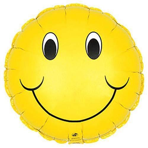 Multicolor CTI Balloons Foil Balloon 114054 Smiley Face 17