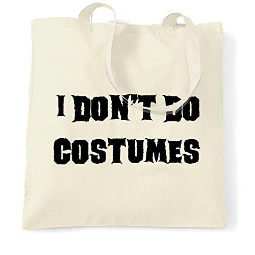 [I Dont Do Costumes Funny Halloween Costume Joke Dad Mom Monster Vampire Shopping Carrier Tote Bag.] (Mom Dad And Child Halloween Costumes)