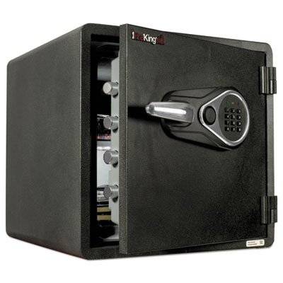 """FireKing KY1313-1GREL Business Class 1-Hour Rated Fire Safe Electronic Lock, MagPROOF Anti-Magnet Tamperproof, Water Resistant, 18"""" Height, 18.5"""" Wide, 19"""" Length, Metal, Black"""