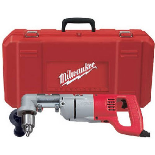 Hawg Electric Drill - Milwaukee 3107-6 7.0 Amp 1/2-Inch Right Angle Drill with D-Handle