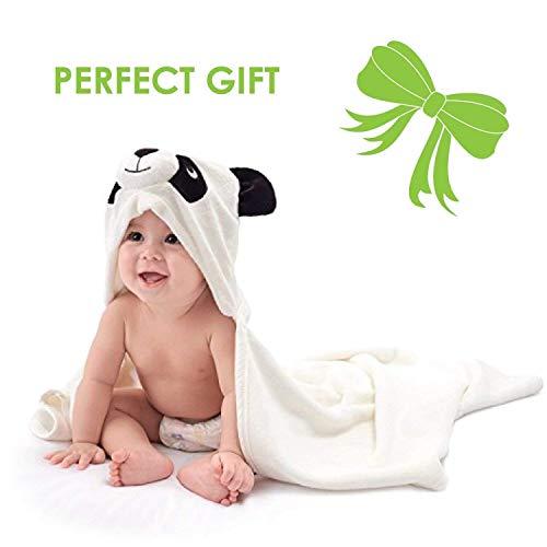 Baby Towel with Hood - 100% Organic Bamboo Hooded Panda Towel - Lilgoo by LilGoo (Image #8)