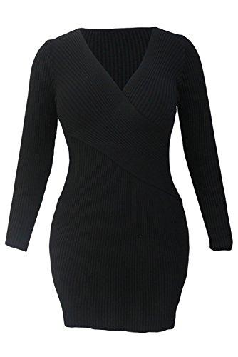 Sleeveless Wings Backless V-collar Wedding Dress Black - 3