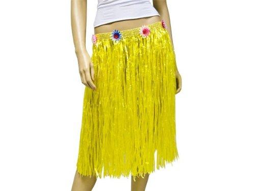 Falda de rafia Aloha Hawaii ~ 60 cm long todos los colores, Bast ...