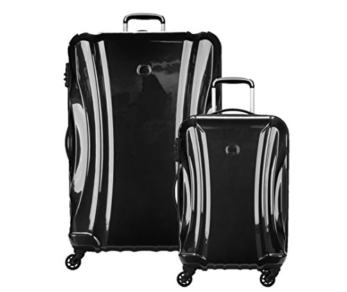 Delsey Luggage Passenger Lite 2 Piece Hard Case Luggage Set Carry on...