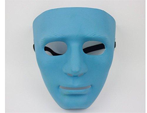 Mardi Gras Party Masquerade Mask,Bboy mask Thick Street Dance mask Jabbawockeez mask Dancer Dance Performance Ghost Dance Blue Prom Masks