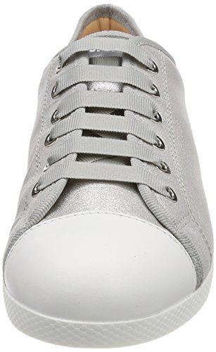 Unisa silver Silver Black Women''s Trainers mts Falin gxnrwAg