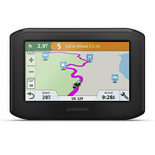 550 Motorcycle Mount - Garmin Zumo 396 LMT-S, Motorcycle GPS with 4.3-inch Display, Rugged Design for Harsh Weather, Live Traffic and Weather
