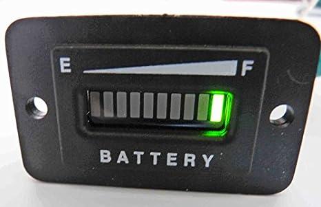 pro12/24frc 12 or 24 volt battery indicator meter - solar panel or marine  trolling
