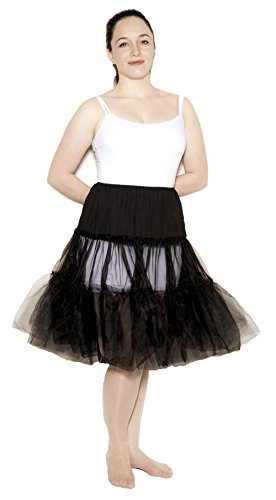 Black Crinoline Slip size Adult Medium / Large by Hey Viv !