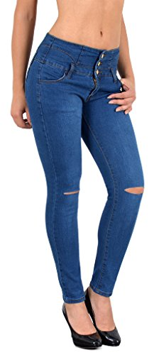 Taille Jeans Jeans Basse Skinny ou Z72 J297 Femme Femme Taille en surdimensionner Jean Pantalon dchirs tex Genoux Haute Jean by g468wq8