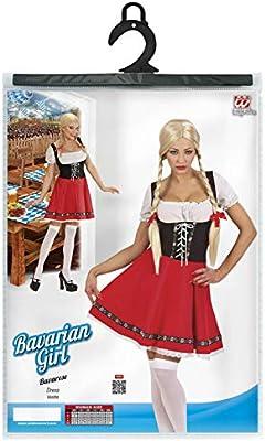 WIDMANN Widman - Disfraz de Heidi para mujer, talla S (W5677-S ...