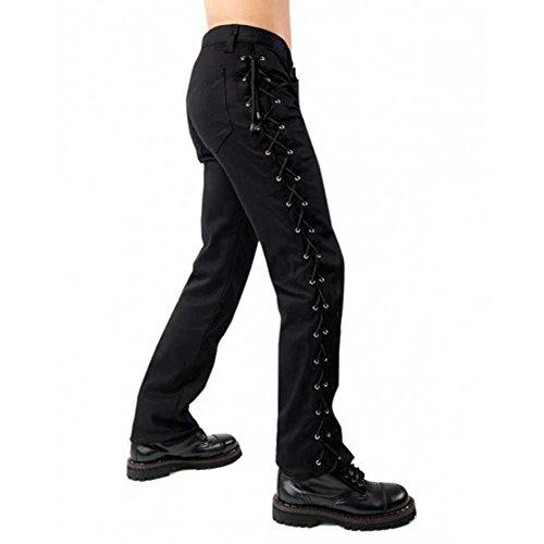 Pantalón Negro Para Black Hombre Pistol Rq5anw8
