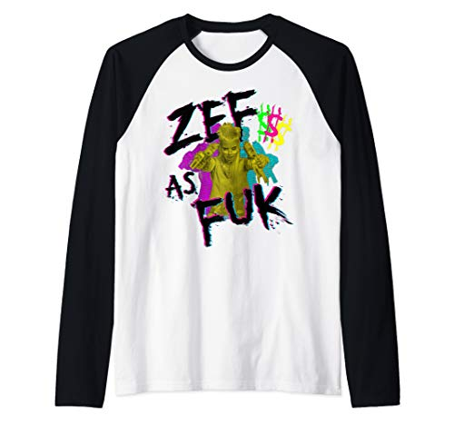 Zef Lifestyle Die Cool No Regrets T-Shirt Gift Raglan Baseball Tee