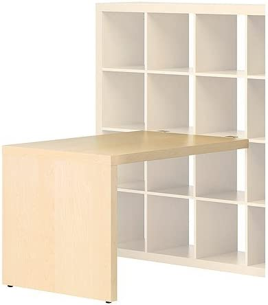 Ikea Expedit – Escritorio Abedul – Efecto – 115 x 78 cm: Amazon.es ...