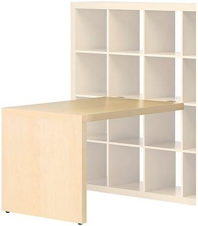 Ikea Expedit – Escritorio Abedul – Efecto – 115 x 78 cm ...