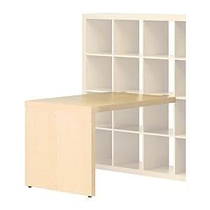 Ikea Expedit–Escritorio Abedul–Efecto–115x 78cm