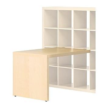 Eckschreibtisch ikea  IKEA EXPEDIT -Schreibtisch Birke -Effekt - 115x78 cm: Amazon.de ...