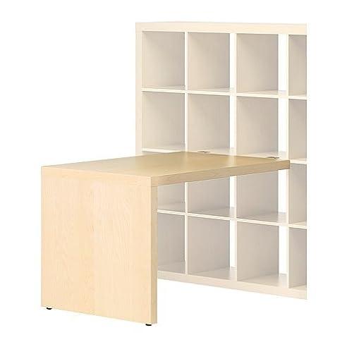 Ikea expedit schreibtisch birke  IKEA EXPEDIT -Schreibtisch Birke -Effekt - 115x78 cm: Amazon.de ...