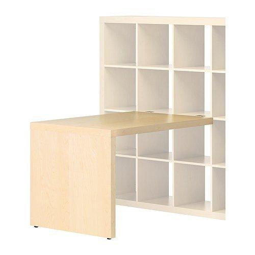 Ikea Expedit Schreibtisch Birke Effekt 115x78 Cm Amazonde