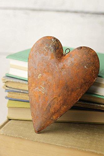 Richland Rustic Tin Rusty Puffy Heart