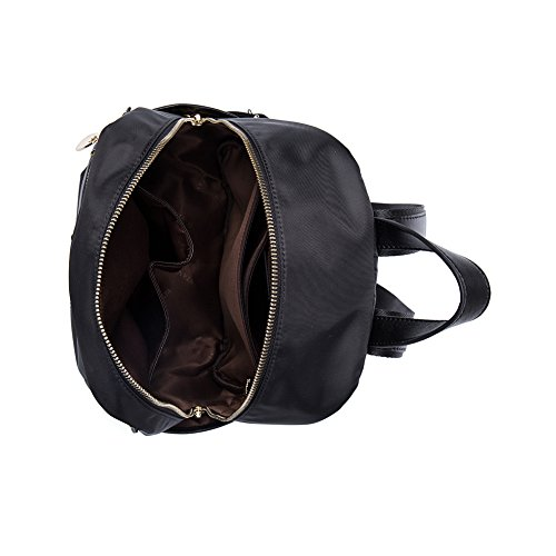 BOSTANTEN Water Resistant Nylon Backpack Purse Casual Daypack Travel School Bag for Women & Girls Olive
