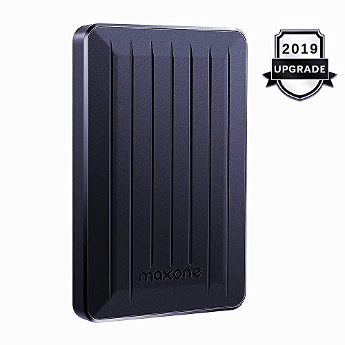 Portable External Hard Drive 320GB - Maxone Upgrade Portable HDD USB 3.0 for PC, Laptop, Mac, Xbox one, PS4, Chromebook, Smart TV - Black