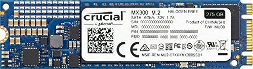 : Crucial MX300 275GB 3D NAND SATA M.2 (2280) Internal SSD - CT275MX300SSD4