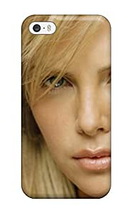 Tanya Diy case cover Skin Protector For Iphone 5/5s Charlize U8NCFR8x2K2 Therons With Nice Appearance