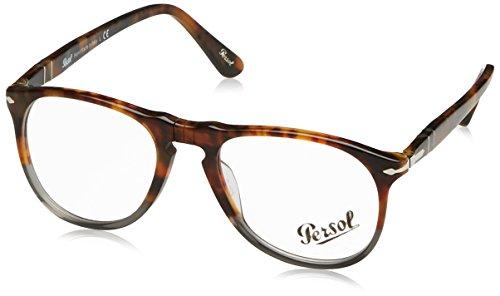 - Eyeglasses Persol PO 9649V 1023 FUOCO E ARDESIA