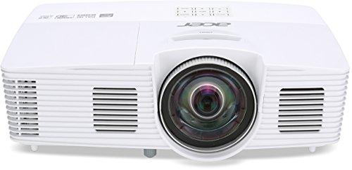 Acer H6517ST Kurzdistanz 3D Full HD DLP-Projektor ( 3200 ANSi Lumen, Kontrast 10.000:1, 1920 x 1080 Pixel, 144 Hz Triple Flash, HDMI/MHL) weiß