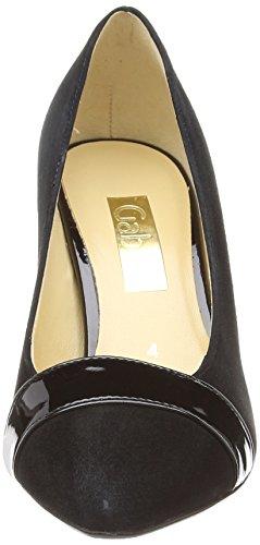 Erskine Donna Scarpe black Col Ht Gabor Suede 2 patent Tacco Nero TqwxB6X6nd