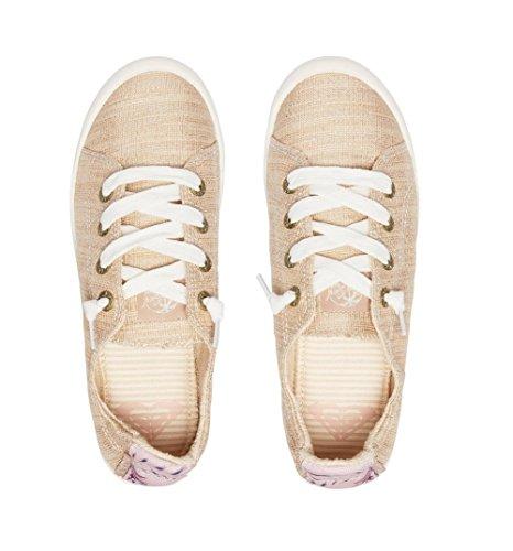 Roxy Vrouwen Bayshore Slip Op Schoen Sneaker Champagne