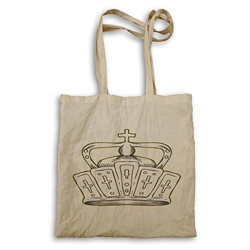 Krone König Queen Art lustige Neuheit Tragetasche a600r