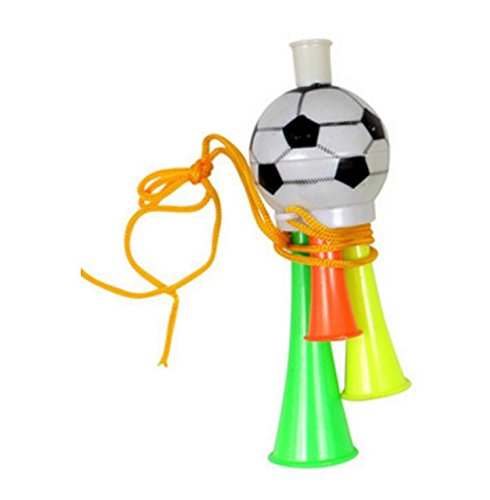 Yingealy Safe and Environmental Friendly Children's Soccer Games Trumpet Football Horn Props Cheering Toys