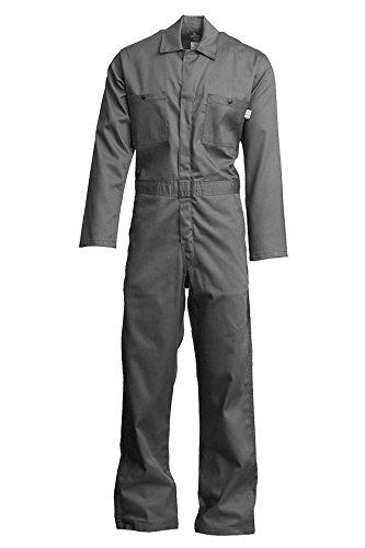 NFPA 70E HRC 2 4X-Large Regular 100/% Cotton Twill with Moisture Management Lapco FR CVEFR7KH-4XL RG Flame Resistant Economy Coveralls Khaki 7 oz