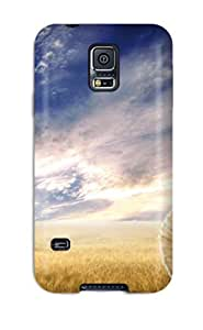 Best 6068542K77916258 Case Cover Protector For Galaxy S5 Funny Christmas Scarecrow Case