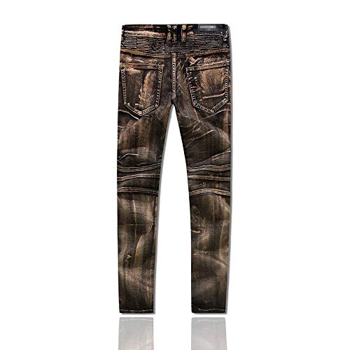 Ufige Pantalones Vaqueros Hombres Largos Pantalones Rectos Pierna Cintura Largos Básicos De Recta Estupendos La Completos D Hombres De Slim La Pesada Pantalones De Fit Rasgados De Nummer6 Hombres 7gaqg