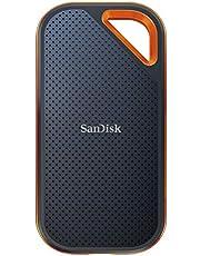 قرص تخزين خارجي اكستريم برو من سان ديسك 500GB SDSSDE80-500G-A25