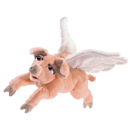 Folkmanis Flying Pig Hand Puppet from Folkmanis