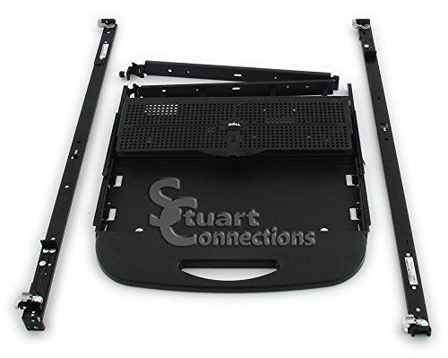 Dell Rackmount Keyboard - DELL KJ648 Dell KJ648 / GJ052 / X3892 Rack Mount Keyboard Drawer, Black, fo