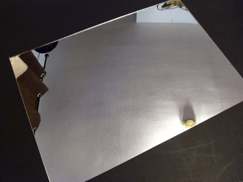3mm Silver Acrylic Mirror A5 Sheet 210 x 148 Perspex Mirror Plastic Safety Mirror Sign Materials Direct