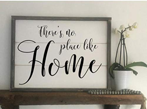 Home Like Wizard Place - CELYCASY There's no Place Like Home Wizard of Oz Wood Sign