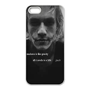 iPhone 4 4s Cell Phone Case White Joker Quote OJ429807