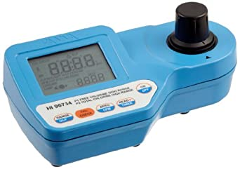Hanna Instruments Portable High Range Free and Total Chlorine Photometer Kit