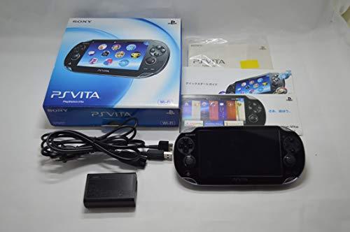 PLAYSTATION VITA(PLAYSTATION VITA)WI-FI MODEL CRYSTAL BLACK(PCH-1000ZA01)일본 수입품