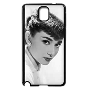 Audrey Hepburn Samsung Galaxy Note 3 Cell Phone Case Black as a gift I699902