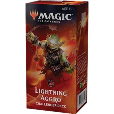 Magic 2019 Challenger Deck: Lightning Aggro - 75 Cards, Including Rekindling Phoenix!
