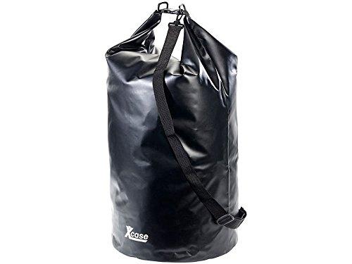 Xcase-Sacca impermeabile da 70litri, Nero