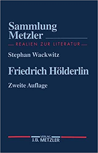Book Friedrich Hölderlin (Sammlung Metzler)